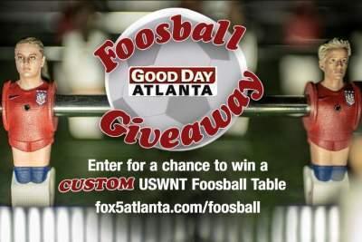 Fox 5 Good Day Atlanta Foosball Giveaway - Win Foosball