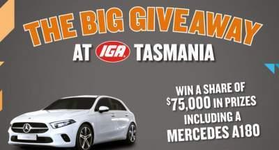 IGA Tasmania Big Giveaway Contest