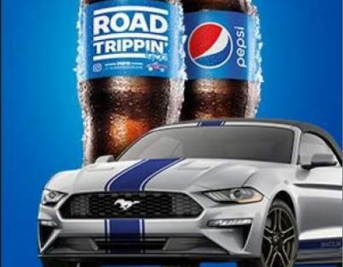 Pepsi Full Throttle Sweepstakes – Win Ford Mustang