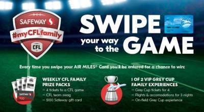 Safeway My CFL Family Contest