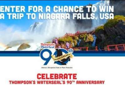 Thompson's WaterSeal 90th Anniversary Contest