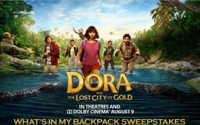 Dora and the Lost City Sweepstakes