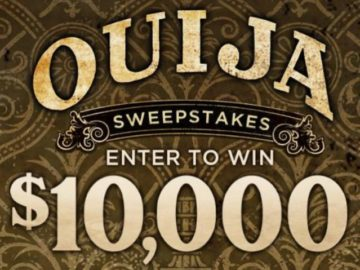 Spirit Halloween's Ouija Sweepstakes
