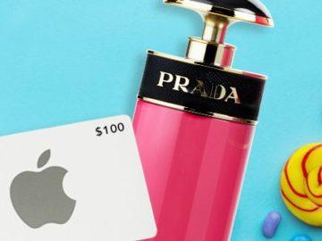 FragranceNet Candy Apple Giveaway
