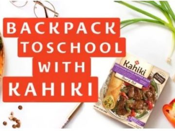 Kahiki Back Pack to School Giveaway