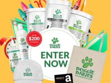 Doggie Dailies Back to School Sweepstakes