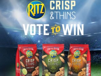 Ritz Crisp & Thins Limited Edition Voting Sweepstakes and Instant Win Game