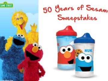Nuk 50 Years of Sesame Street Sweepstakes