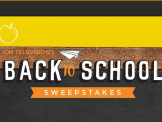 ION Television's Back to School Sweepstakes
