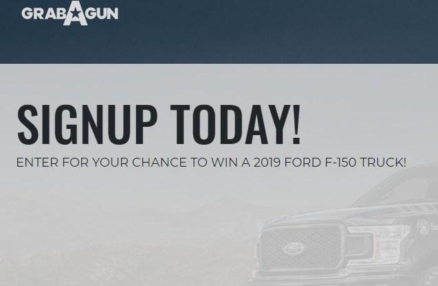 GrabAGun FORD F-150 TRUCK Giveaway