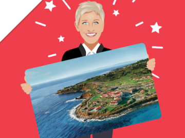 Ellen DeGeneres Terranea Resort Giveaway