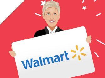 Ellen DeGeneres $300 Walmart Gift Card Giveaway