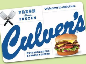 Culver's Farmers Behind the Fresh Sweepstakes