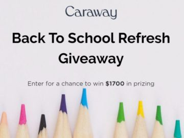 Caraway Back To School Refresh Giveaway
