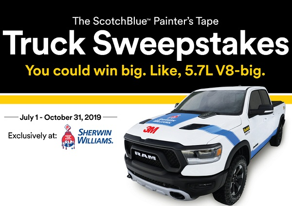 3M Company ScotchBlue Painter's Tape Sweepstakes