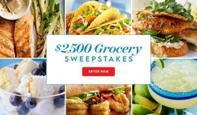 BHG Grocery Sweepstakes – Win $2,500