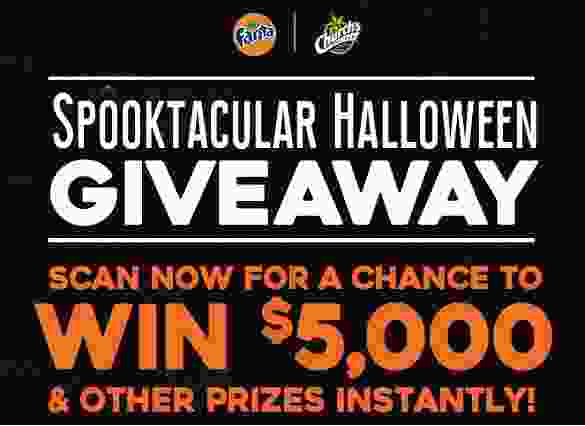 Church's Chicken and Fanta Spooktacular Halloween Giveaway