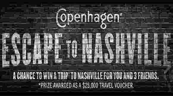 Copenhagen Escape to Nashville Sweepstakes