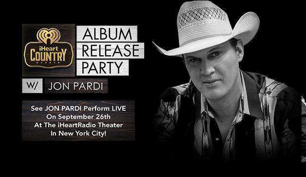 JON PARDI Perform LIVE Sweepstakes – Enter To Win Two Tickets