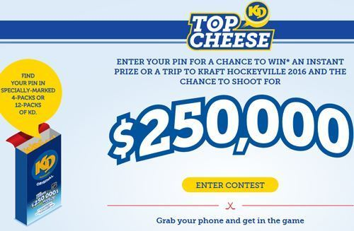 KD Top Cheese Contest 2019 – Enter Pin Win $250,000