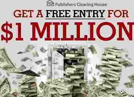 PCH Bingo BITZ Millionaire Sweepstakes