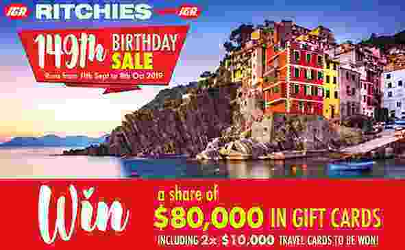Ritchies 149th Birthday Competition
