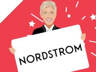 Ellen DeGeneres – Win a $300 Nordstrom Gift Card