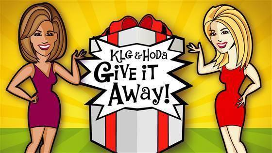 KLG and Hoda Give It Away Sweepstakes