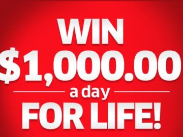 Publisher's Clearing House Win $1,000/Day For Life