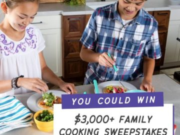 OXO America's Test Kitchen Family Cooking Sweepstakes