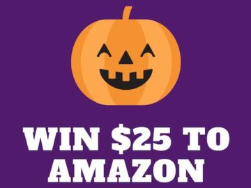 Win a $25 Amazon Gift Card!