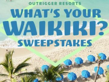 Outrigger What's Your Waikiki Sweepstakes