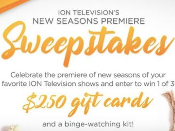 ION Television's New Seasons Premiere Sweepstakes