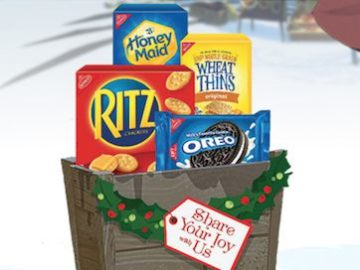 Nabisco Share Your Joy With Us Sweeps and Instant Win