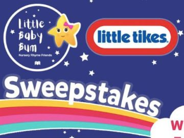 Little Baby Bum with Little Tikes Sweepstakes