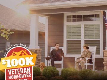 New Home for the Holidays $100K Veteran Homebuyer Giveaway