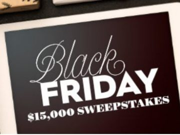 Better Homes & Gardens Black Friday $15,000 Sweepstakes