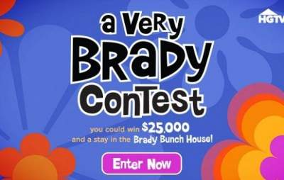 HGTV A Very Brady Contest – Win $25,000