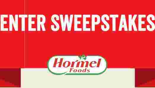Hormel Brand Game Day Sweepstakes