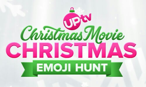 UPTV Christmas Movie Christmas Emoji Hunt Watch & Win Giveaway