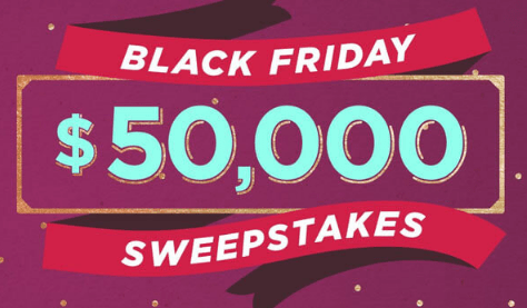 QVC Black Friday $50,000 Sweepstakes
