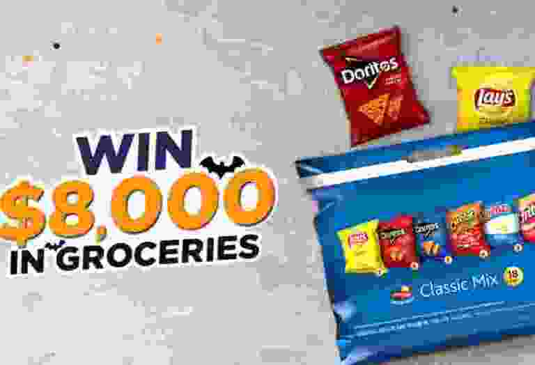 Frito-Lay Tasty Rewards $8,000 Groceries Sweepstakes