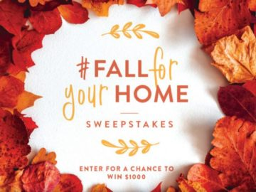 Better Homes & Gardens Fall for Your Home Sweepstakes