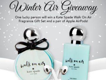 FragranceNet.com November 2019 Winter Air Giveaway