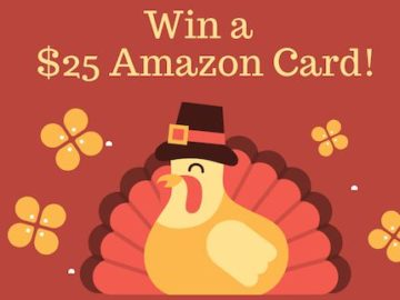 Win a $25 Amazon Gift Card from Sweepstakes Fanatics
