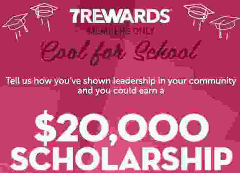 7Rewards $20000 Slurpee Scholarship Contest