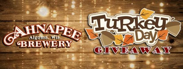 Ahnapee Brewery Turkey Day Giveaway