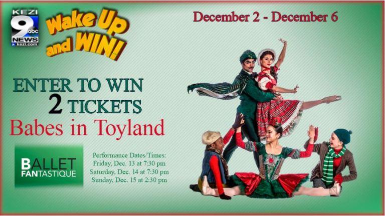 Ballet Fantastique Babes In Toyland Giveaway