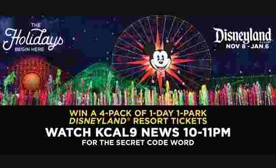 KCAL9 Disneyland Resort Contest