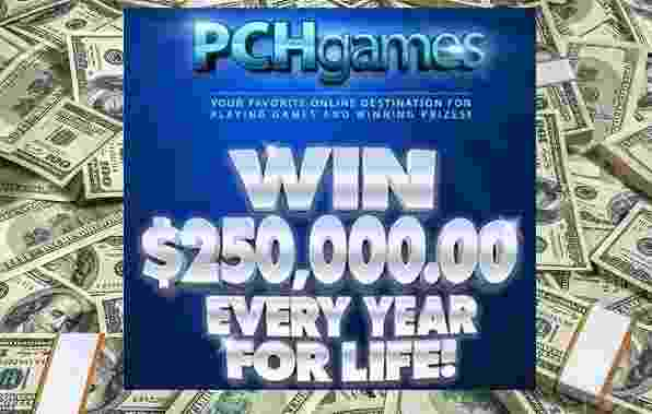 PCH Win $250,000 A Year For Life Sweepstakes